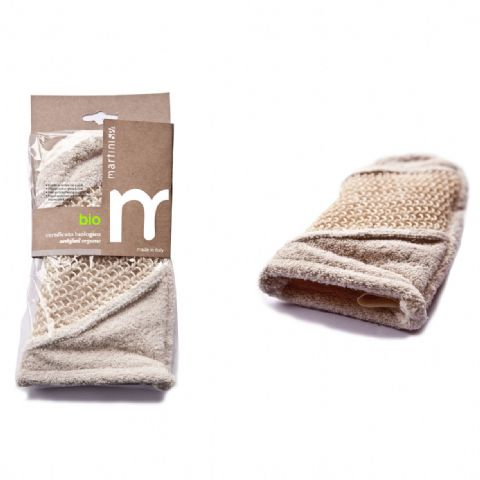 Natural Bio Exfoliating Organic Wash Glove | Simply Naturale